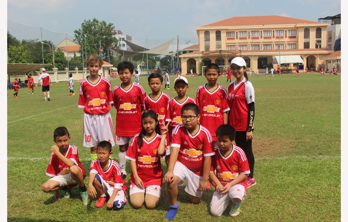 Community Football Tournament BISHCMC Manchester United
