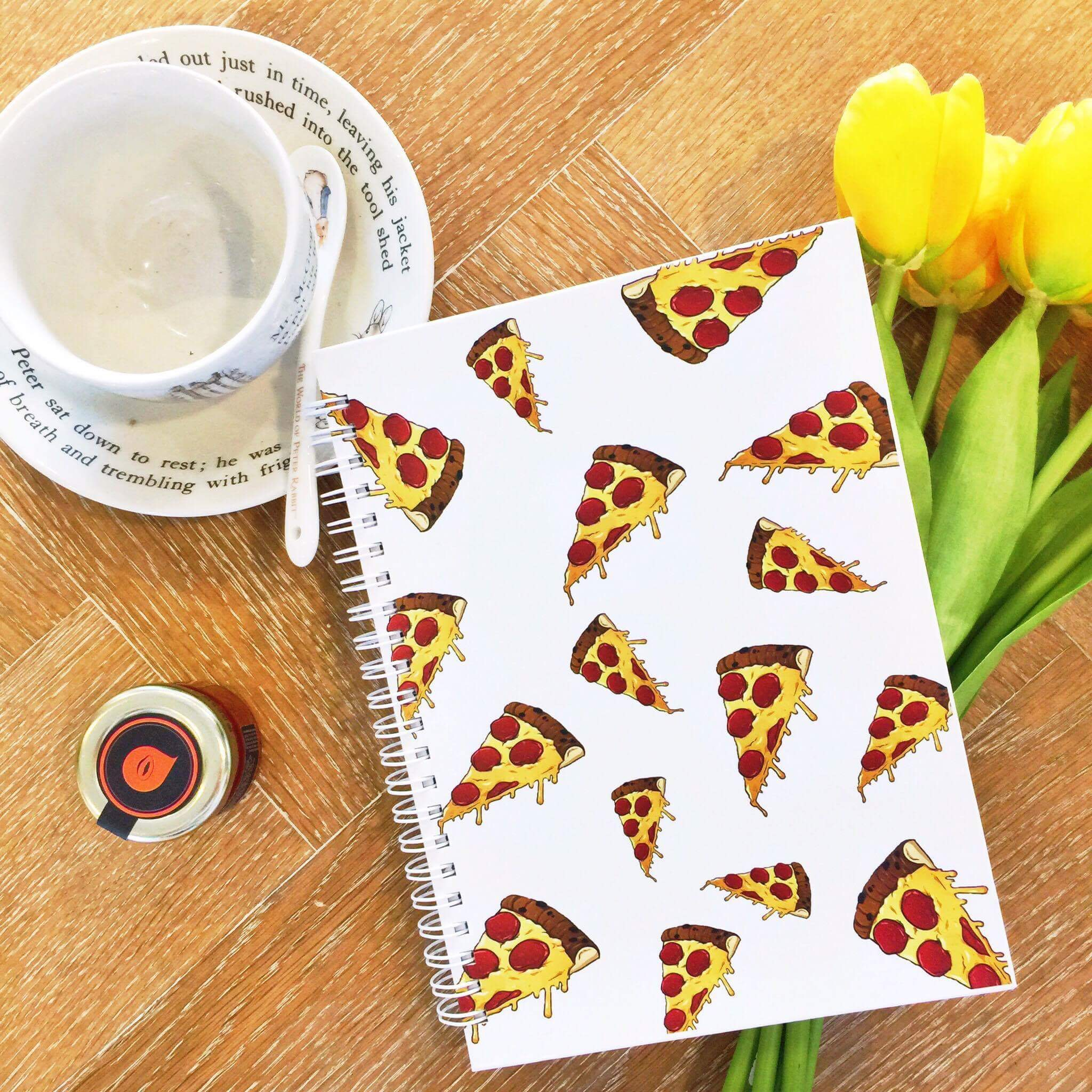 Pizza Notebook Sample