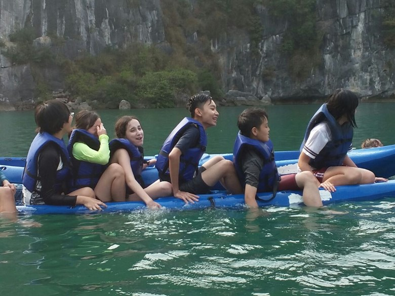 British International School Hanoi Y8 Cat Ba Trip 2018 (26)