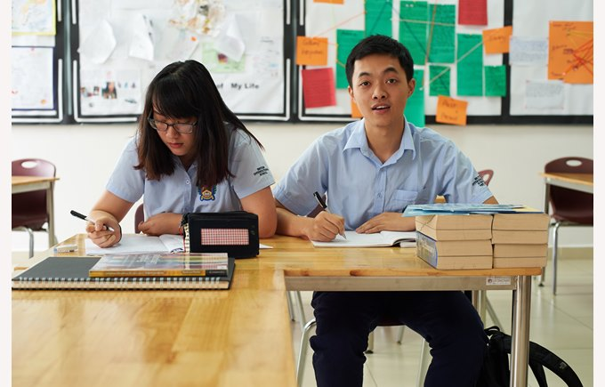 British International School Hanoi Year 13 student