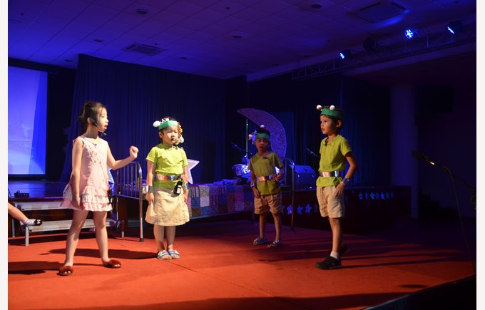Britist International School Hanoi - KS1 Production