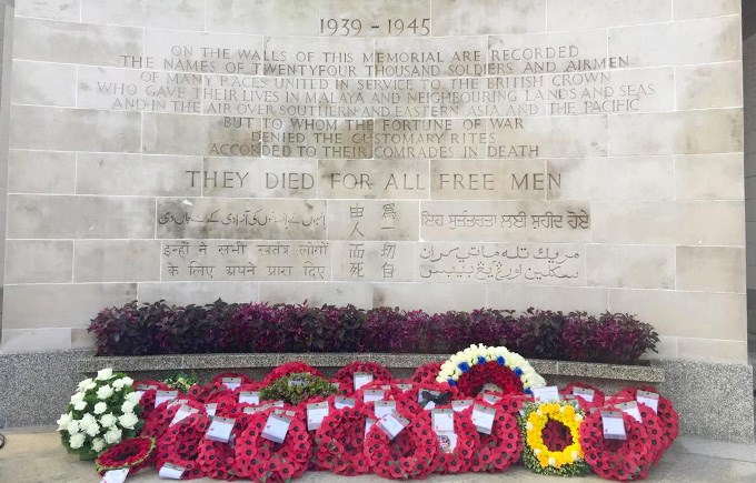 Remembrance Sunday, Kranji War Memorial