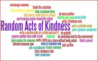 Random act of kindness club