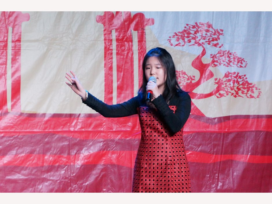 Chinese New Year - Student Singing
