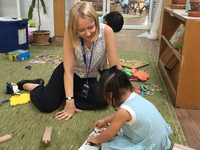 Working in EYFS