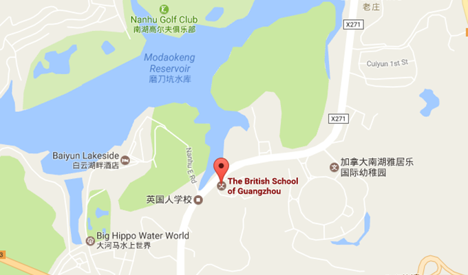 BSG School Map Location