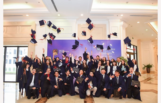 British International School Hanoi Graduation 2018
