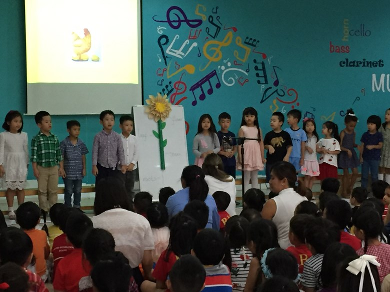 Britist International School Hanoi - Story telling