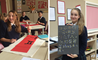 Students at BISS Puxi learn the art of Chinese Calligraphy