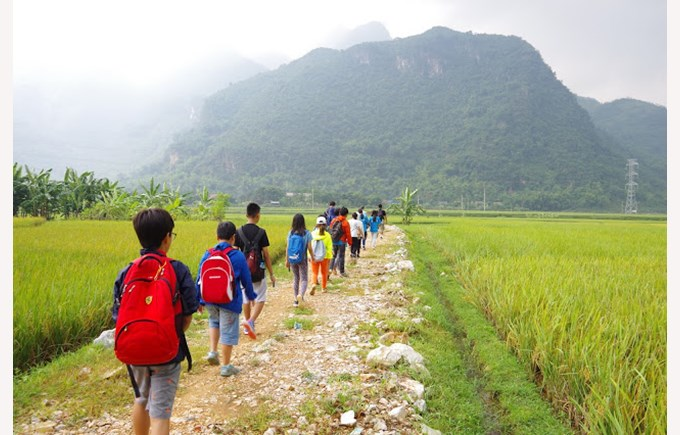 BIS Secondary Year 8 Mai Chau Expedition