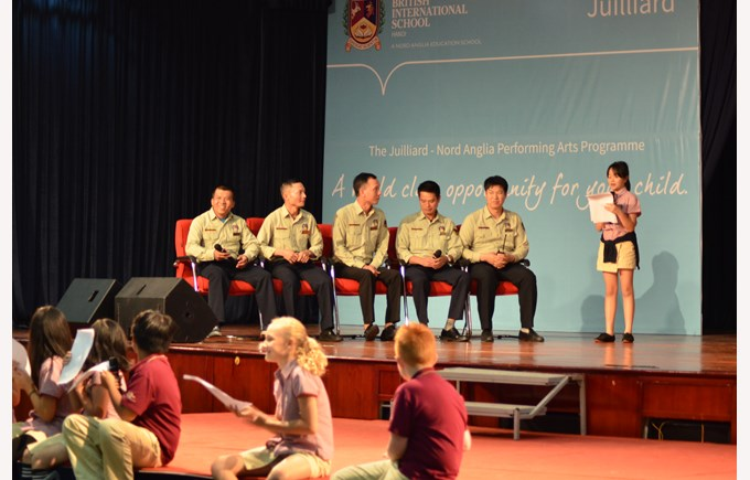 British International School Hanoi - Guards