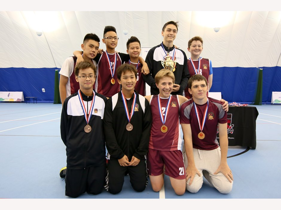 BISHCMC team at FOBISIA U15 Games 2015