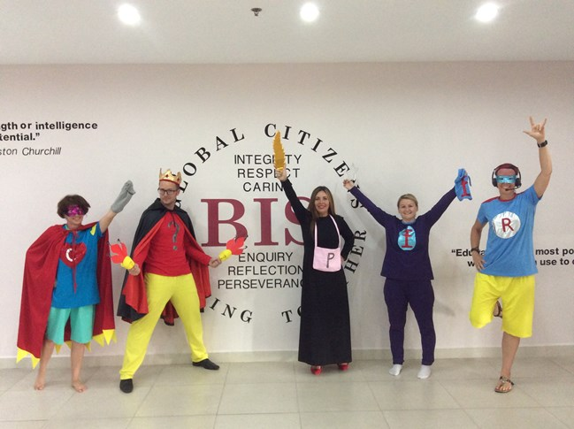 Britist International School Hanoi - Superheroes