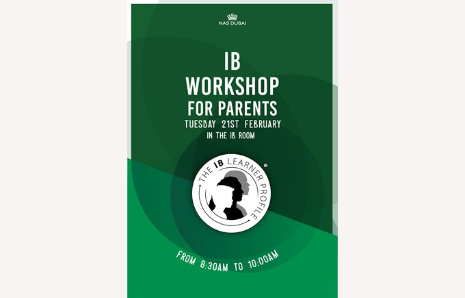 IB Workshop for Parents