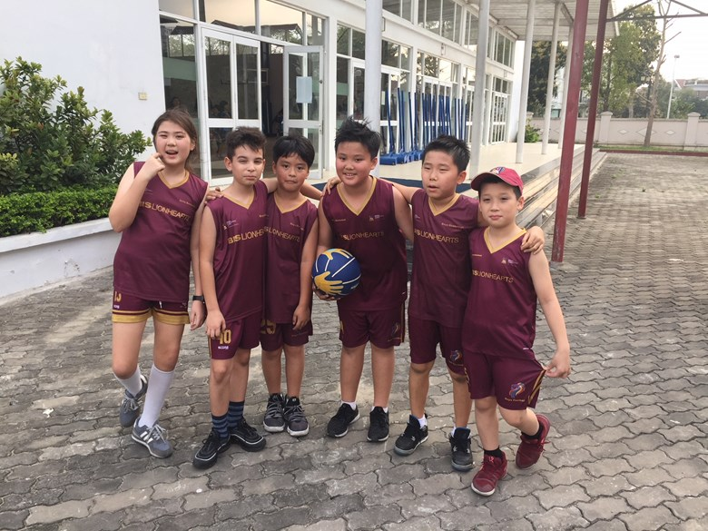 British International School Hanoi - the HAC Youth Basketball