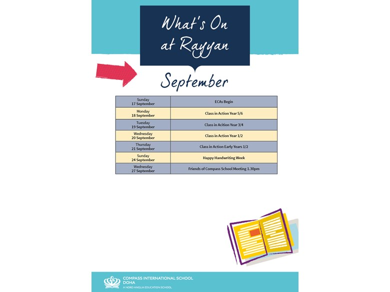 Rayyan What's on September