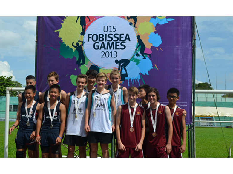 Our cictorious athletes at the 2013 Under 15 FOBISIA Games