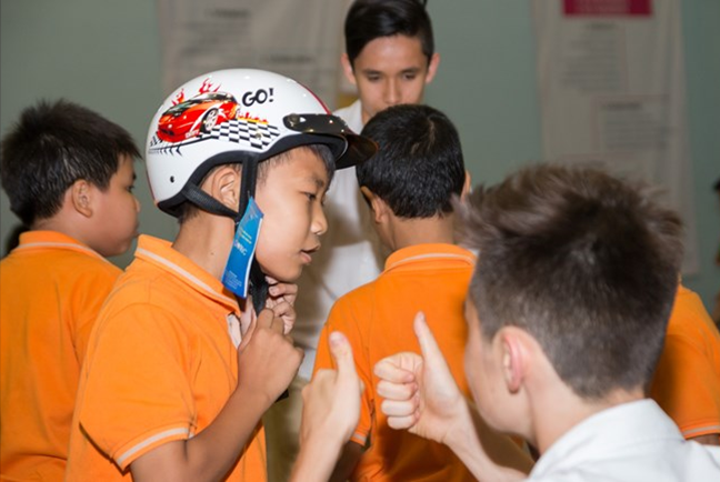 Year 9 Community Project – Helmets for Kids BIS HCMC