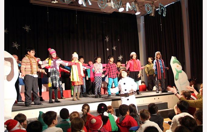 Y3&4 Production 'Snowman'
