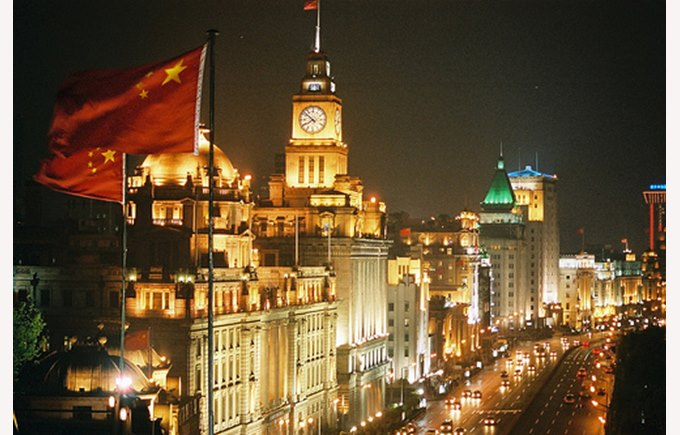 Image of The Bund Shanghai at night-time, Shanghai China, What to do in Shanghai