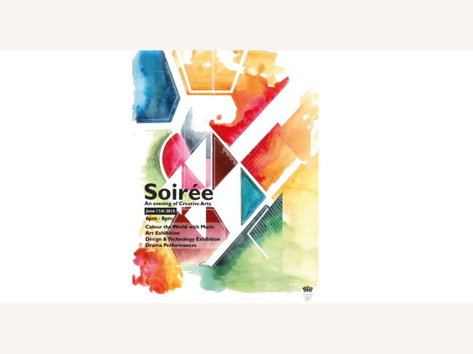 Art soiree poster 2015