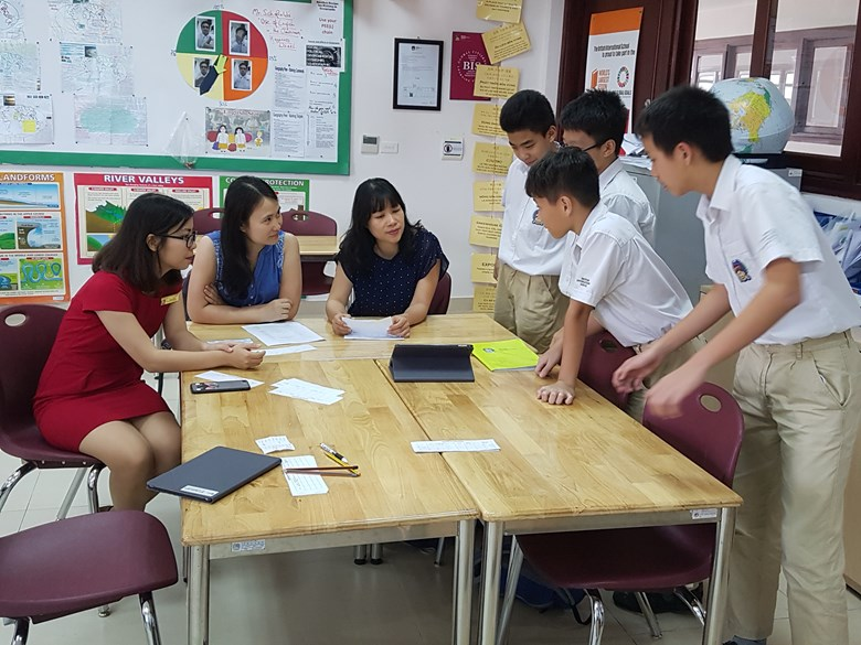British International School Hanoi Year 8 teach your parent