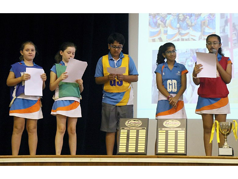 Upper Primary Sports Assembly