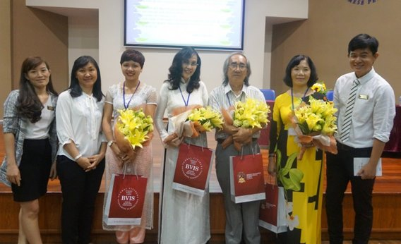 The HCMC Haiku Club Authors' Visit to BVIS