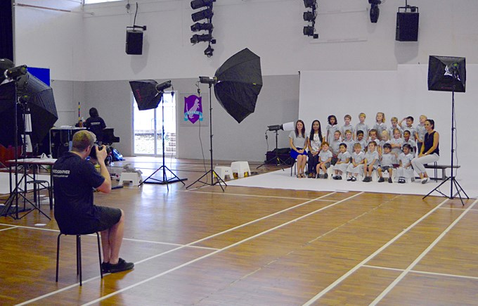 Pret-A-Portrait at DCIS for School Photos Week