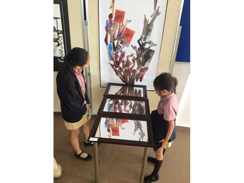 British International School Hanoi IB arts exhibition