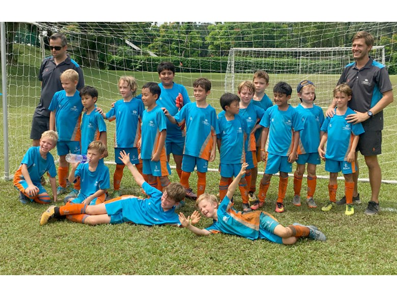 DCIS Lions Under 9 Boys Football Teams Take Silver and 4th Place