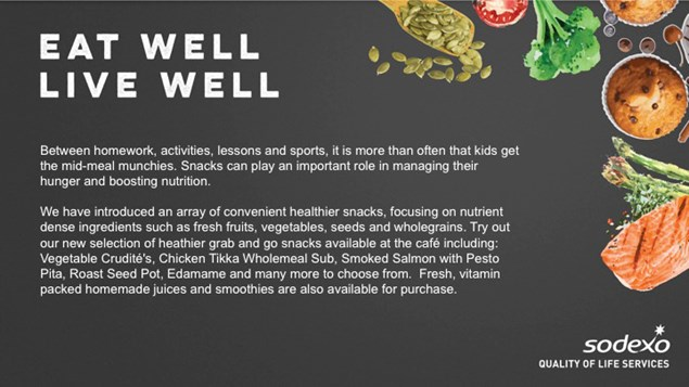 Sodexo Eat Well Graphic