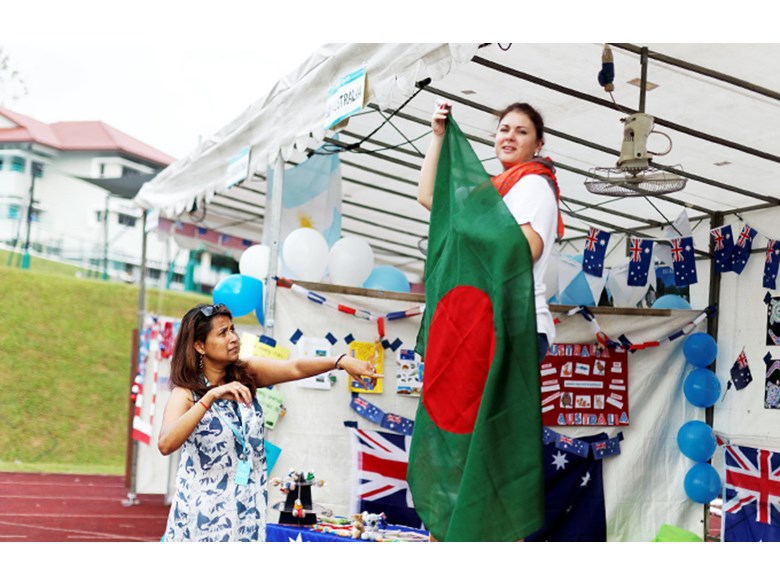 DCIS UN Day Country Tent Bangladesh