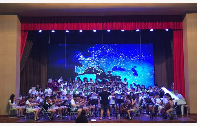 FOBISIA Youth Orchestra and Choir 2018