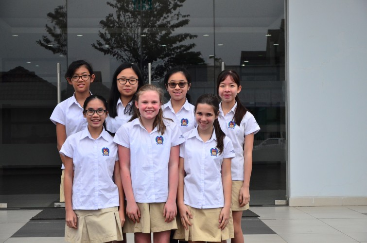 BIS Hanoi under 13 Girls Team