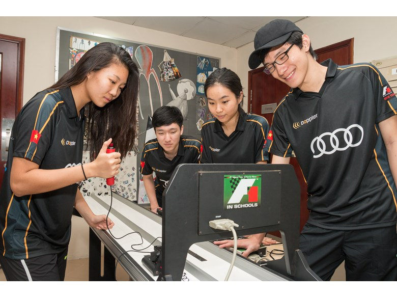 F1 in Schools Doppler Racing BIS HCMC 16-2420