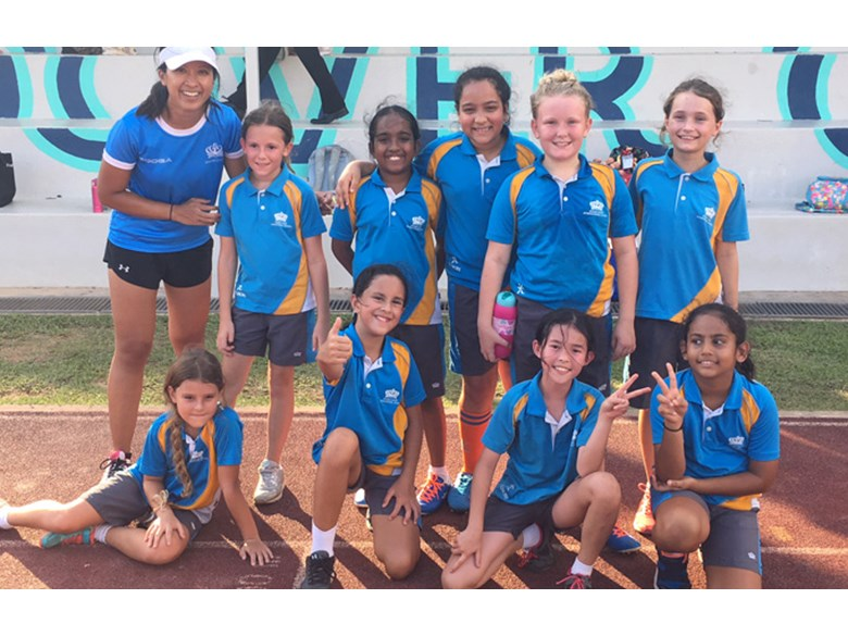 DCIS Under 11 Girls Rugby Team