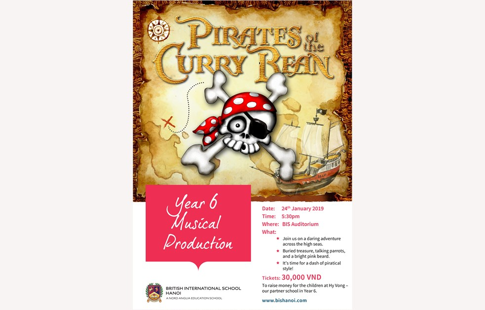 Year 6 Production poster