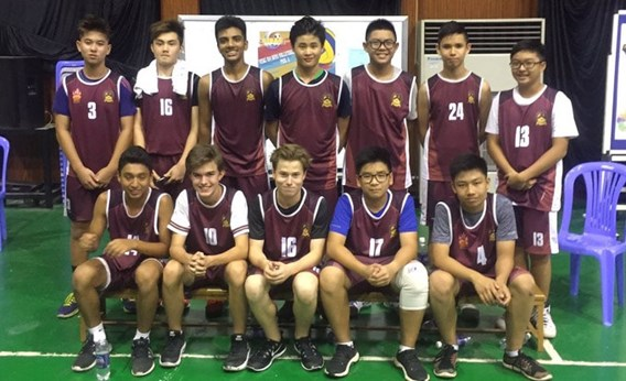 BIS HCMC U14 boys SISAC City Champs
