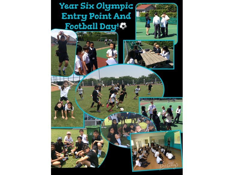Year 6 have a sport themed week