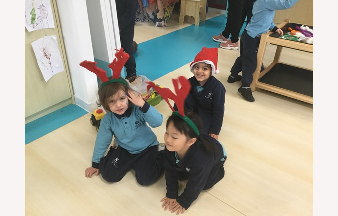 The children in Nursery have had lots of fun exploring the celebration of Christmas this week.