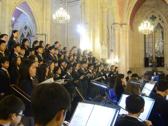 BSG Choir - Sacred Heart Cathedral 2015