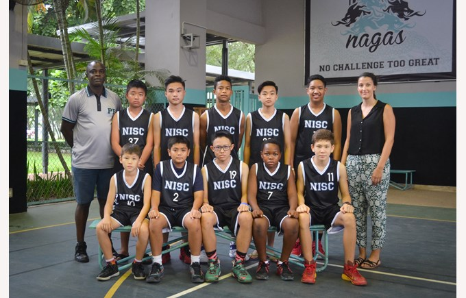Junior Boys Basketball Team