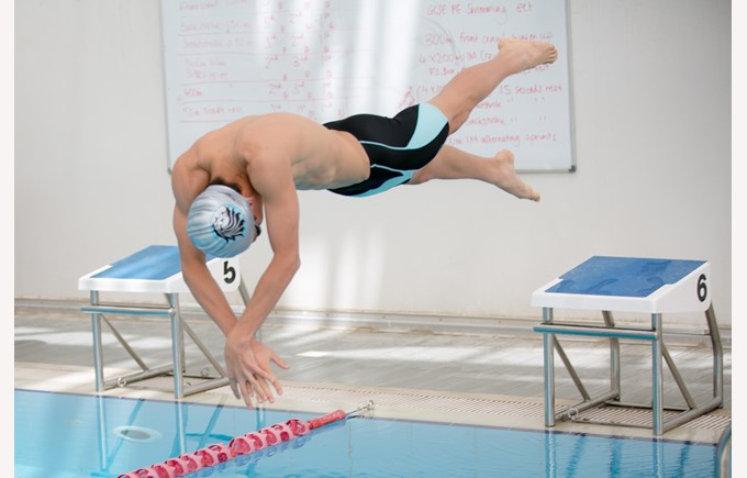 Secondary swim