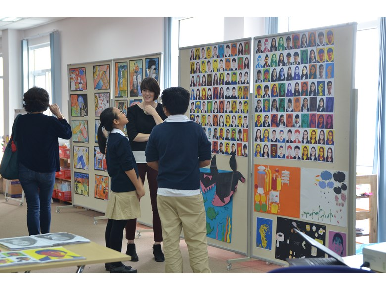 KS3 Art Exhibition 6
