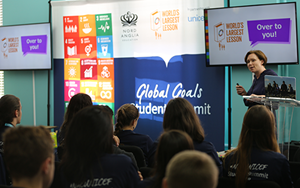 World Largest Lesson brings sustainable goals to life