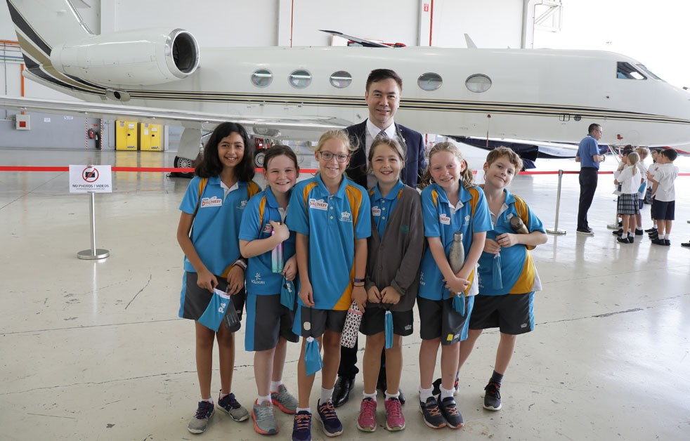 Dover Court International School Year 5 Aviation Trip