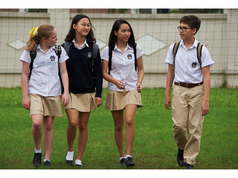 British International School Hanoi - Secondary students