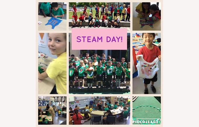 STEAM Day in Year 1
