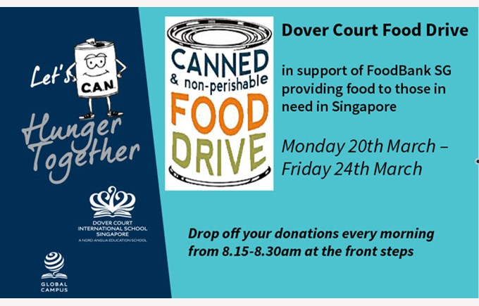 Dover Court Food Drive 2017: Day 1